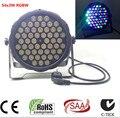 54X3 W led par DJ Par LED RGBW Мыть Свет Диско DMX Контроллер Free Доставка