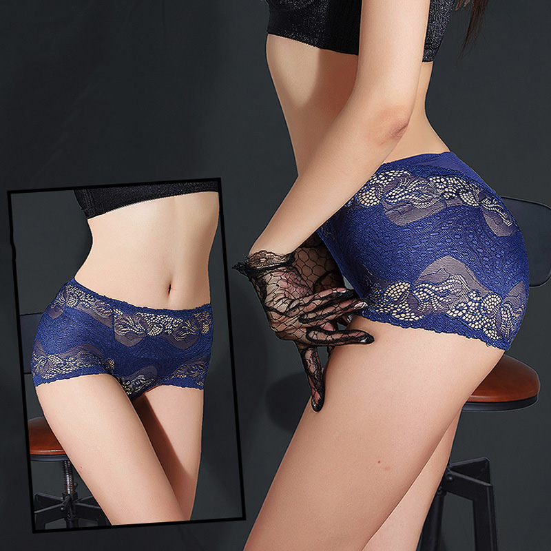 2017 High Quality Lace Seamless Elegance Sexy Lingerie Underwear Women   Panties   Lace Plus Size High Waist Women's Briefs Calcinha