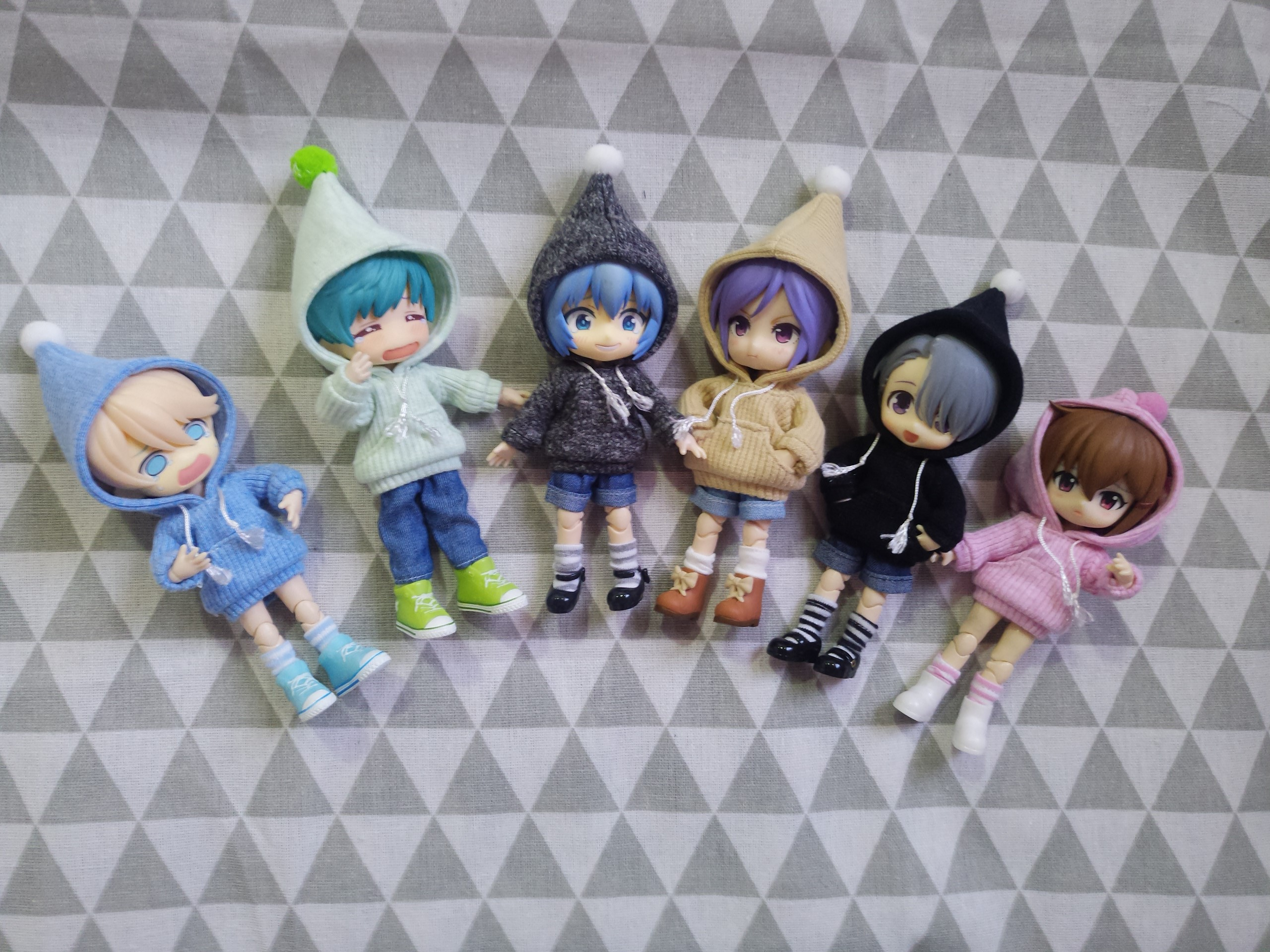 2019 Sweatshirt Clothe Set For Obitsu11 OB11 1/12 Doll OB11 Doll Gsc Molly Available For Cu-poche OB11 Accessories Doll