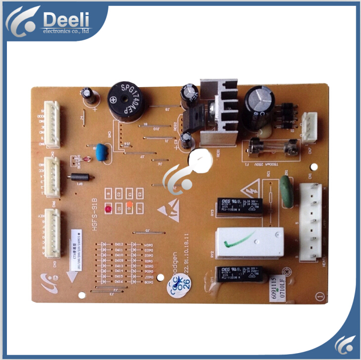 90% new good working refrigerator pc board motherboard for HGFS-91B BCD-190NISA on sale 95% new good working 100% tested for haier refrigerator motherboard pc board bcd 216st bcd 226sc bcd 226st original on sale