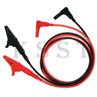 Automobile Maintenance Multimeter Lead Wire Kit Test Hook Clip Test Probe Crocodile Test