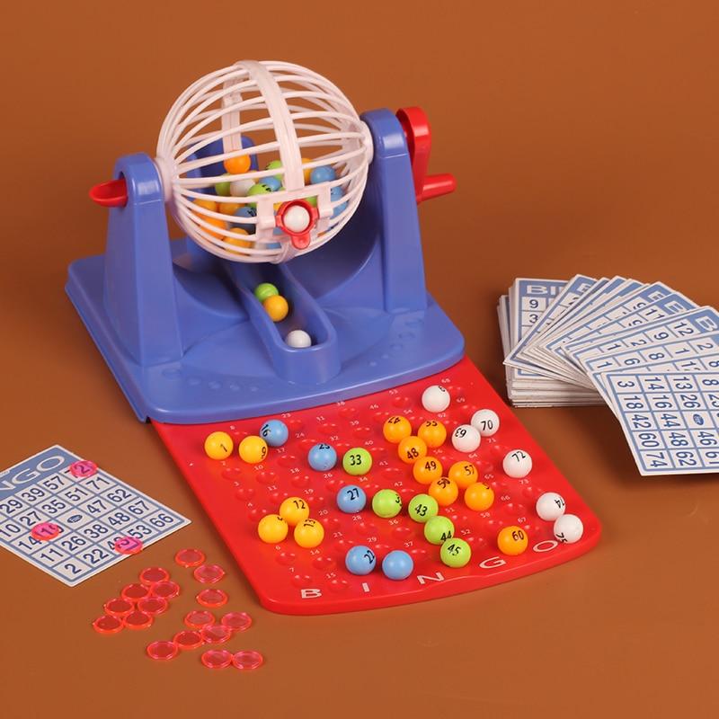 bingo game simulation ERNIE lottery games children's educational toys