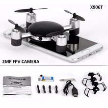 X906T Mini Rc Helicopter Wifi With Camera Drone Quadcopter 2.4GHz 4CH 6-Axis Gyro 3D UFO FPV RC Drone