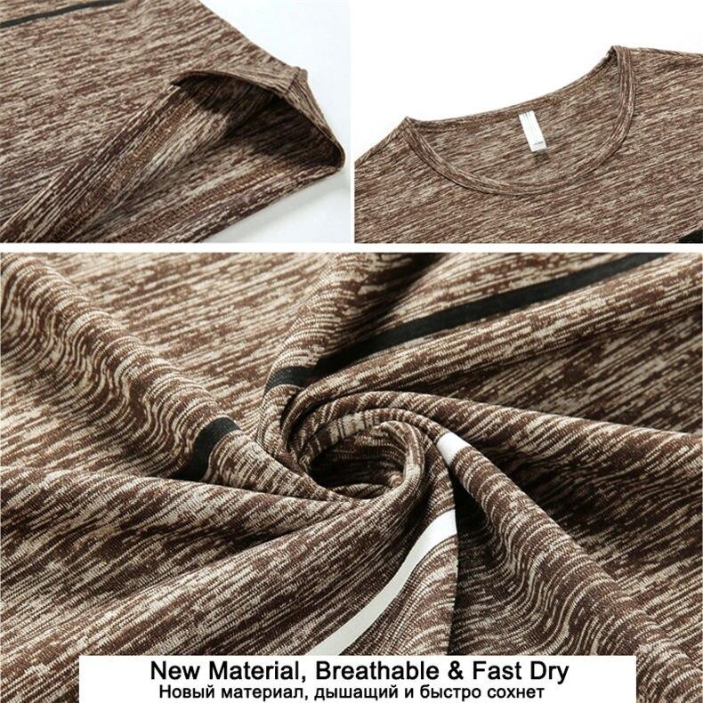 9XL Summer T shirts Men Clothing Polyester Plus Size 5XL 6XL 7XL 8XL Male Tshirts Breathable Short Sleeve Strip Top Tees O-Neck 02