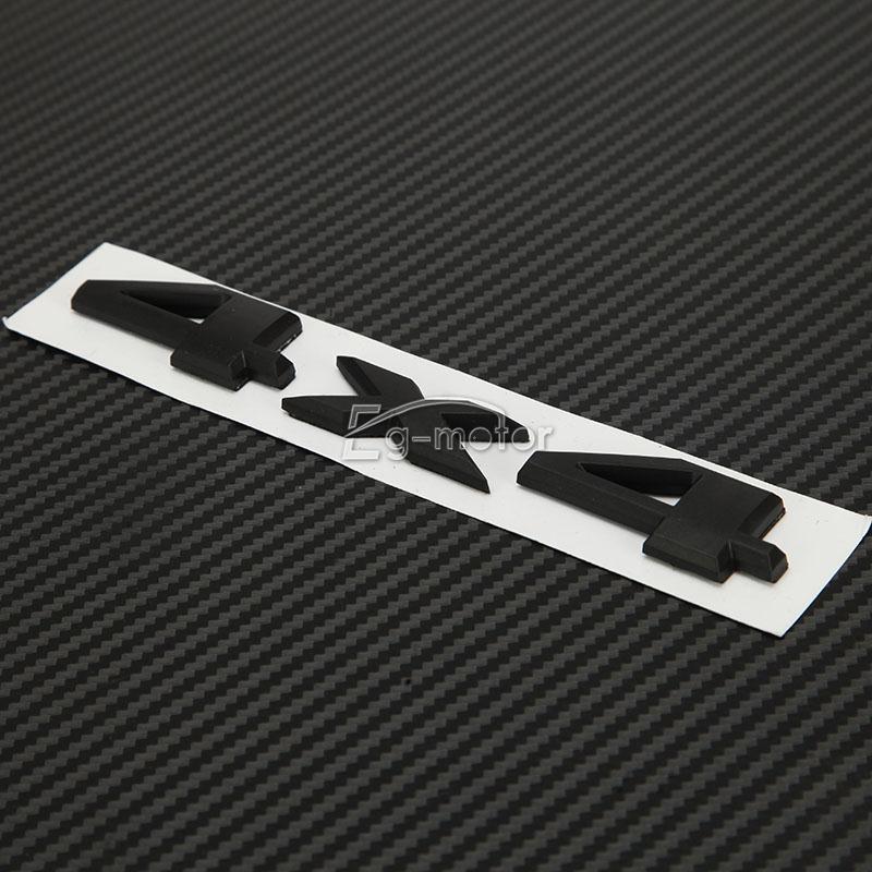 3D 4X4 Auto Emblem Badge Sticker- ը տեղավորվում է Jeep - Ավտոմեքենայի արտաքին պարագաներ - Լուսանկար 4