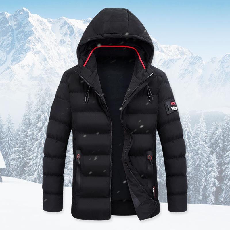 Coupe D'hiver Mode Parkas Qualité vent Manteau Veste M Chaud De Vêtements 3xl Hommes Top Épaississent Taille Jeunes Cagoulés zdXwqXA