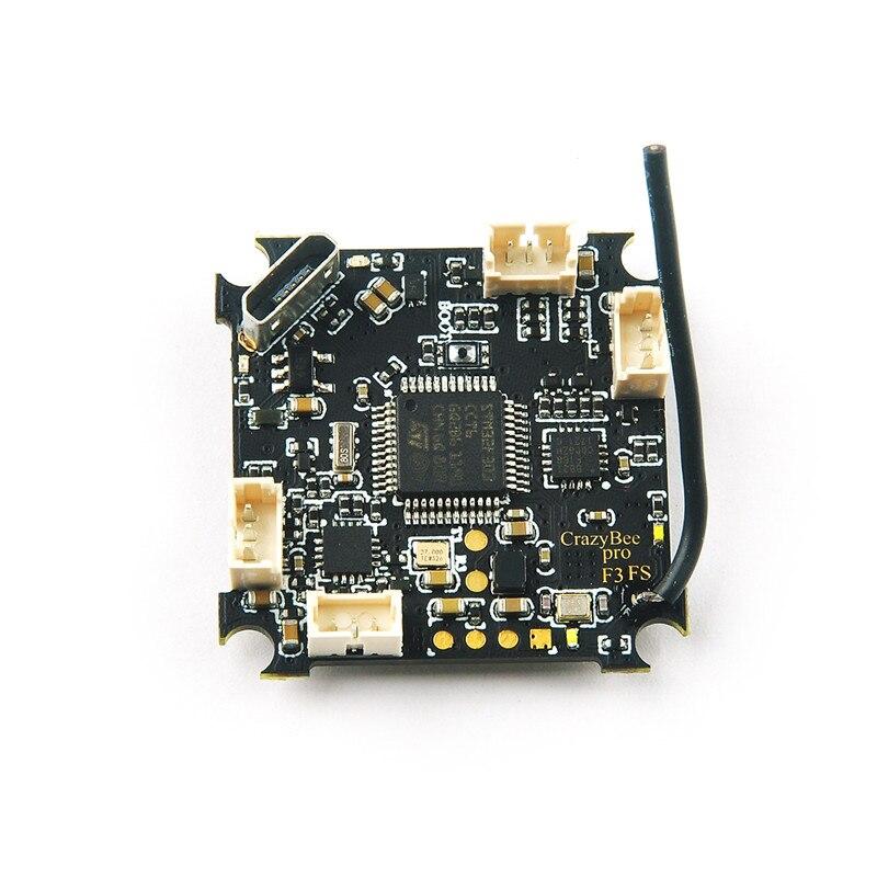 En Stock Racerstar Crazybee F3 Pro Contrôleur de Vol Mobula7 5A 1-2 s ESC Compatible pour Flysky/Frsky /récepteur