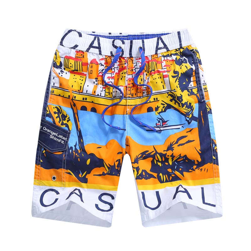 New Children   Board     Shorts   For Boys Beach Surf Swimwear Quick Drying Kids Boardshorts Children Swim Trunks Boys   Shorts