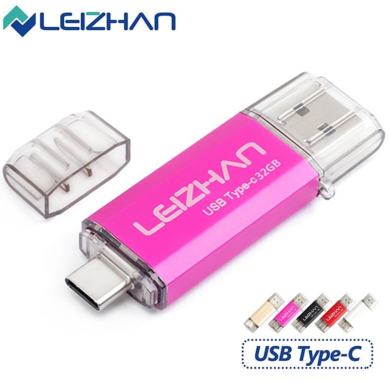 Leizhan Type C Usb Flash Drive Otg Usb 3 0 External