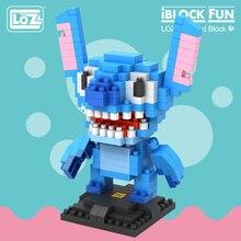 LOZ Diamond Building Blocks Plastic Assembly Toys Hobbies Monster Anime Figure DIY Children Kids Christmas Gift