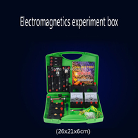 Electromagnetic Circuit Experimentation Equipment Full Set of Teaching Aids Physical Set Conductor Bulb Generator