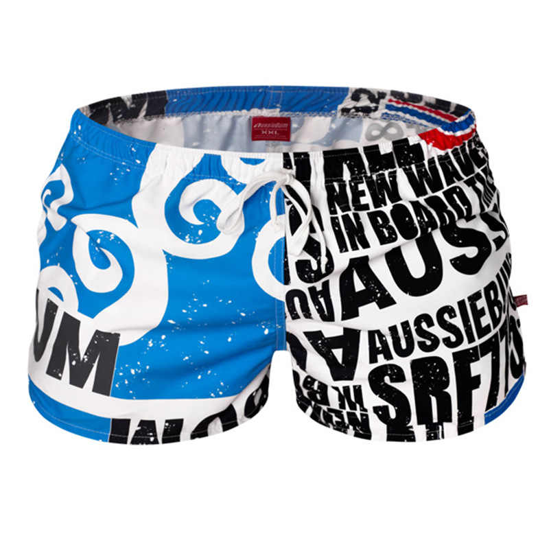 سراويل للسباحة الرياضة السراويل الرجال شاطئ Swimswear مثير ملخصات الملاكم سبا الذكور المايوه