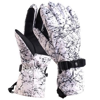 Лыжные перчатки Snow Head водонепроницаемые-30C градусов зимние теплые перчатки для сноуборда мужские и женские перчатки для мотокросса ветрозащитные велосипедные Мотоциклетные Перчатки