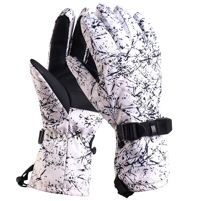 Snow Head Ski Gloves Waterproof -30C Degree Winter Warm Snowboard Gloves Men Women Motocross Windproof Cycling Motorcycle Gloves