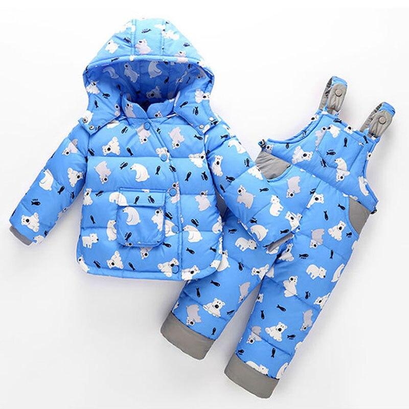 Детские зимние куртки; Детская куртка для девочек и мальчиков; Пуховая одежда; Осенняя теплая верхняя одежда; Комбинезон с капюшоном и рисун...