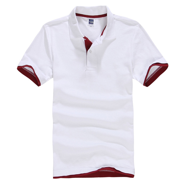Hot New Brand Camisa   Polos   Shirt Men Design Breathable Cotton Casual Short Sleeve Mens   Polos   Shirts Plus Size XXXL