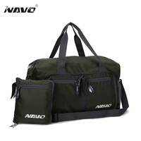 Novelbag Men Women Luggage Travel Bag Outdoor Sports Nylon Shoulder Bag Portable Gym Fitness Folding Bags