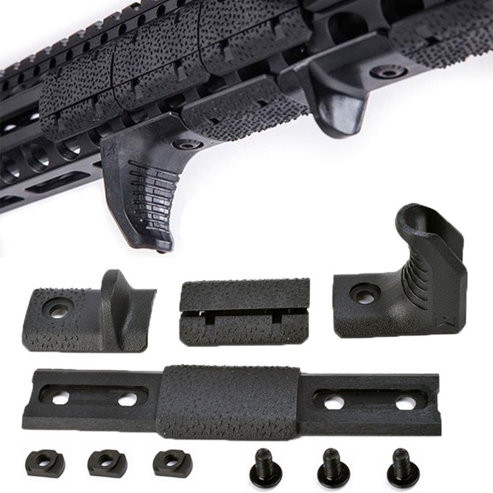 WADSN Tactical Airsoft M-LOK Hand-Stop Kit Low-Profile Handle grip Handguard Grip for MLOK Rail Cover Protector Softair MP02057(China)