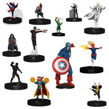 Heroclixs Collectible Miniatures Game Superhero Marvels DC Figure Toy Avengers Batman Guardians Galaxy Action Figure Collections guardians of the galaxy 2 dj baby dancing tree man statue resin action figure collectible model decoration toy party supplies