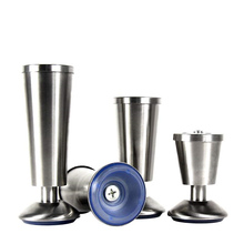 4pcs Adjustable Height Furniture Legs Stainless Steel Hairpin Cabinets Sofa Foot Accessories Bed Riser