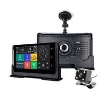 4G Car ADAS DVR GPS 6.86″ Android 5.1 Car Camera WIFI 1080P Video Recorder Registrar Dashcam DVR OBD 24 Hours Parking monitoring