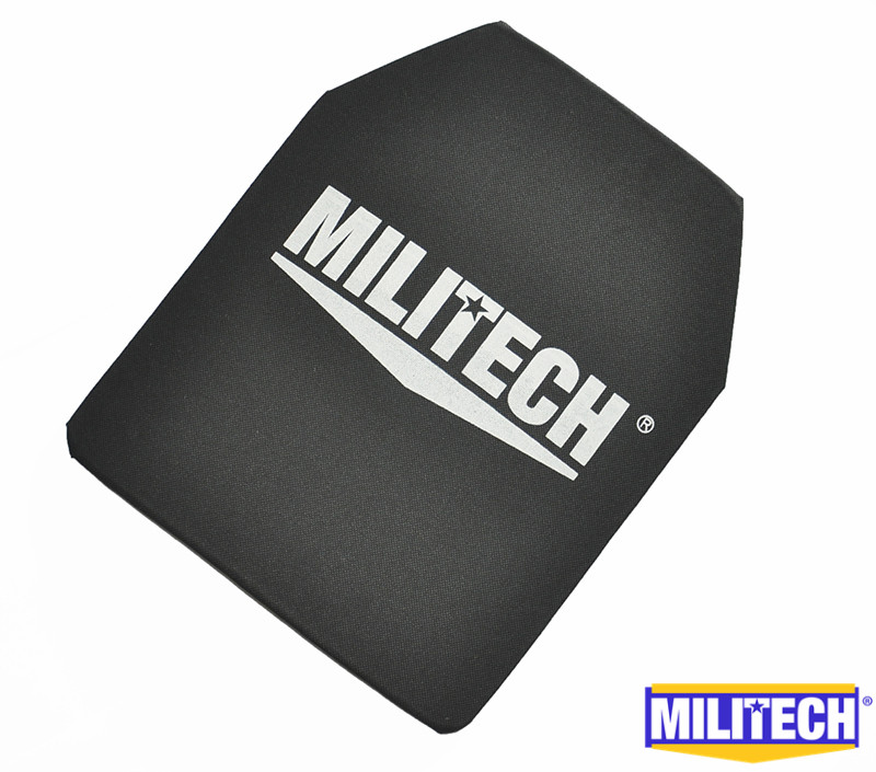 MILITECH 10 x 12 inches Ultra Light Weight UHMWPE NIJ IIIA 3A Bullet proof Bulletproof Backpack Panel With Ballistic Test Video