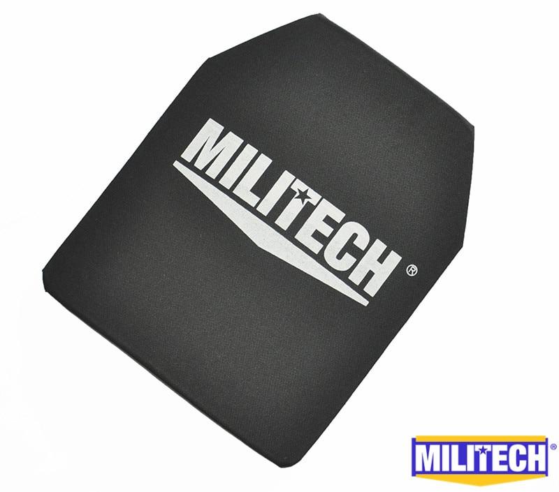 MILITECH 10x12 дюймов Ultra Light Вес СВМПЭ NIJ IIIA 3A пуленепробиваемые пуленепробиваемый рюкзак Панель с баллистического Тесты видео