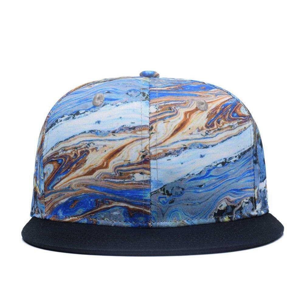 48aad2915de Quanhaigou Brand Colorful Geology Snapback Hats
