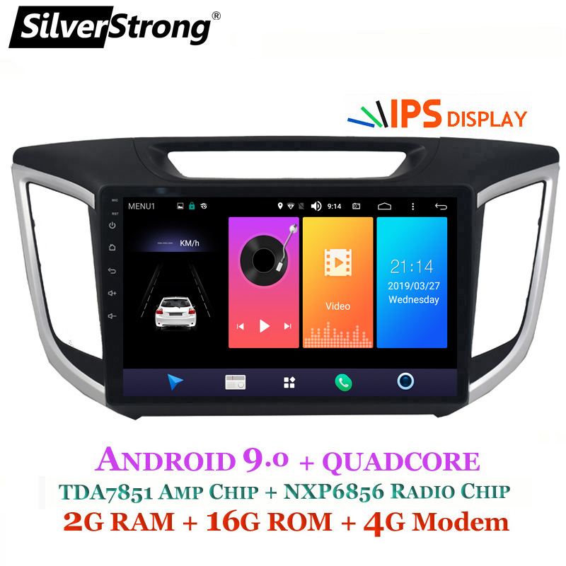 SilverStrong Android9 1 Car Multimedia player for VW Passat Radio Car DVD for Golf for Tiguan
