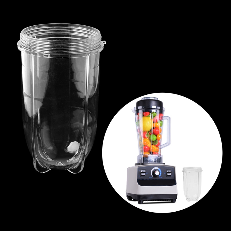 Juicer Blenders Cup Mug Clear Replacement Parts With Ear For 250W Magic Bullet JAN07 Dropship|Juicer Parts| |  - title=