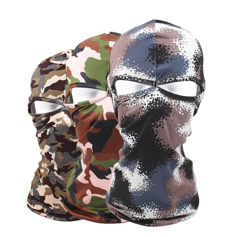 Multicam Camouflage Balaclava Tactical Airsoft Military Army Bicycle Motorcycle Neck Cap Hat Cover Protection Full Face Mask brand new skull skeleton army airsoft tactical paintball full face protection mask