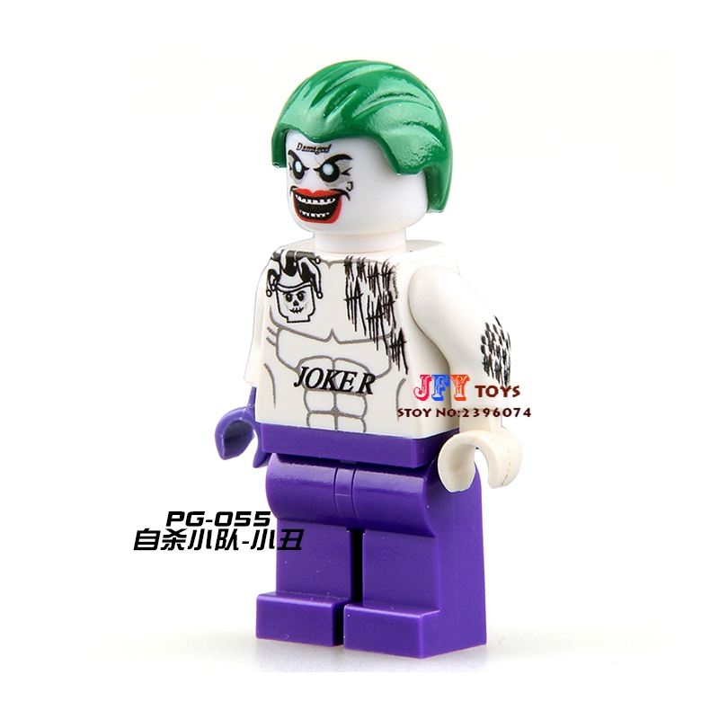 Single Sale star wars superhero DC Suicide Squad Joker Series building blocks model bricks toys for children brinquedos menino