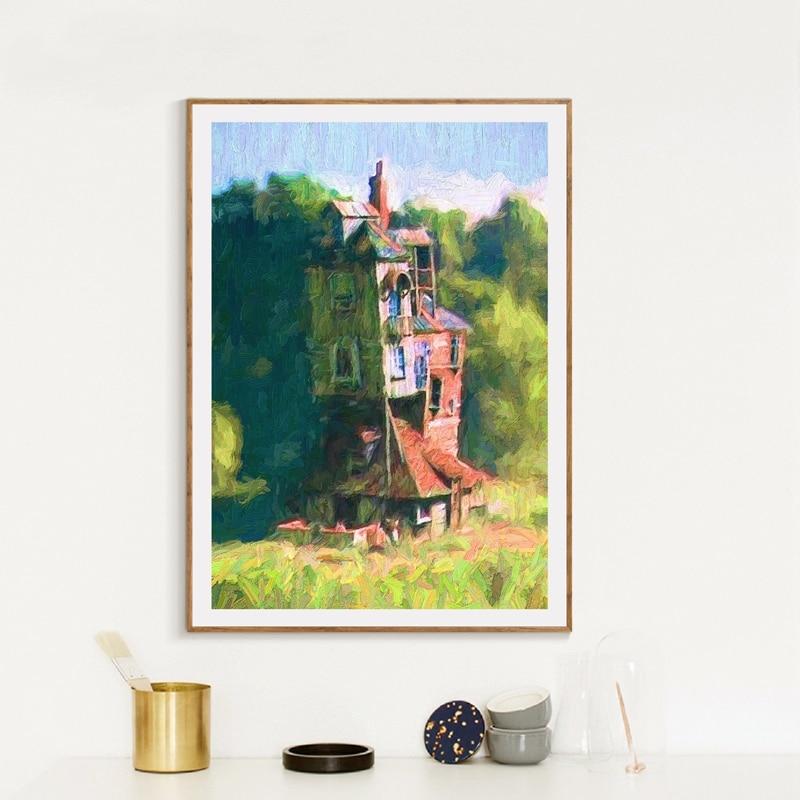 Oil Painting Wall Art Print