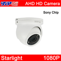 4pcs A Bag 12Pcs Infrared Leds Sony Chip Starlight 1080P 2mp Waterproof Mini Dome AHD CCTV