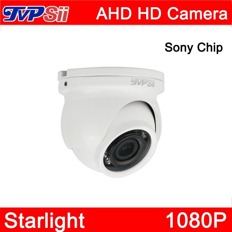 4 pcs un sac 12 Pcs Infrarouge Leds Sony Puce Starlight 1080 P 2mp Étanche Mini Dôme AHD CCTV Surveillance caméra Livraison Gratuite
