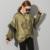 [Soonyour] 2017 A nova listagem organza lado Holandês gosto AS20026 lanterna manga solta plus size fino casaco feminino atacado