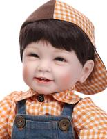 22 inch 55 cm reborn babies vinyl dolls Silicone Reborn Baby Dolls Lifelike Newborn Baby Gift Juguetes Babies Toy Real Kids