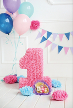 hot deal buy gray chic wall balloons flag flowers pink 1st birthday party  wooden board baby photo background photo backdrop for photo studio