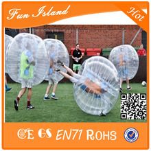 Free Shipping Top Quality 1.5m Inflatable Ball Suit,Soccer Bubble,Bumper Ball 100% TPU Zorb Ball