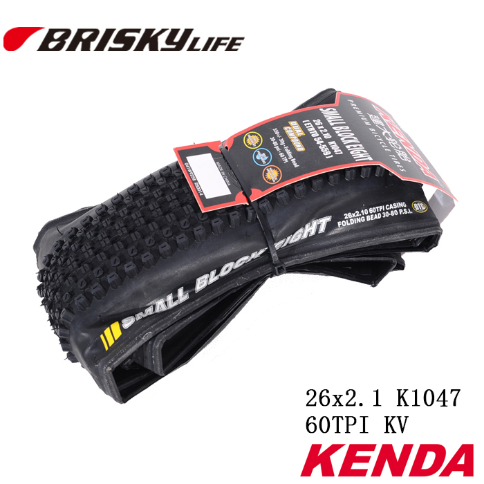 무료 배송 Kenda 고품질 자전거 접이식 타이어 26x2.1 산악 자전거
