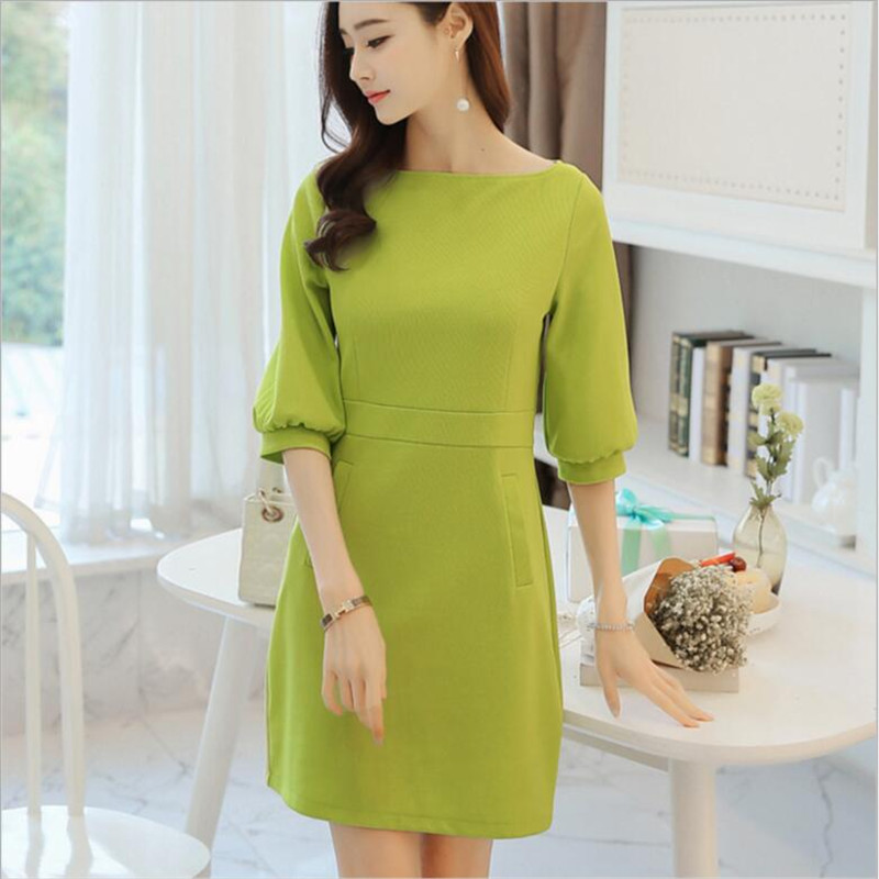 Women Cute Korean Dresses Promotion-Shop for Promotional Women ...