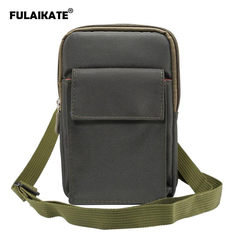 FULAIKATE 6.4 Universal Bag for Samsung Galaxy Note8 S8 Plus Waist Climbing Portable Case for S7 Edge MEGA 6.3 Shoulder Bag