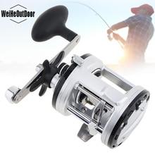 купить Drum Fishing Reel 13 Ball Bearing 5.6:1 Right Hand Trolling Wheel Casting Sea Fishing Reel дешево