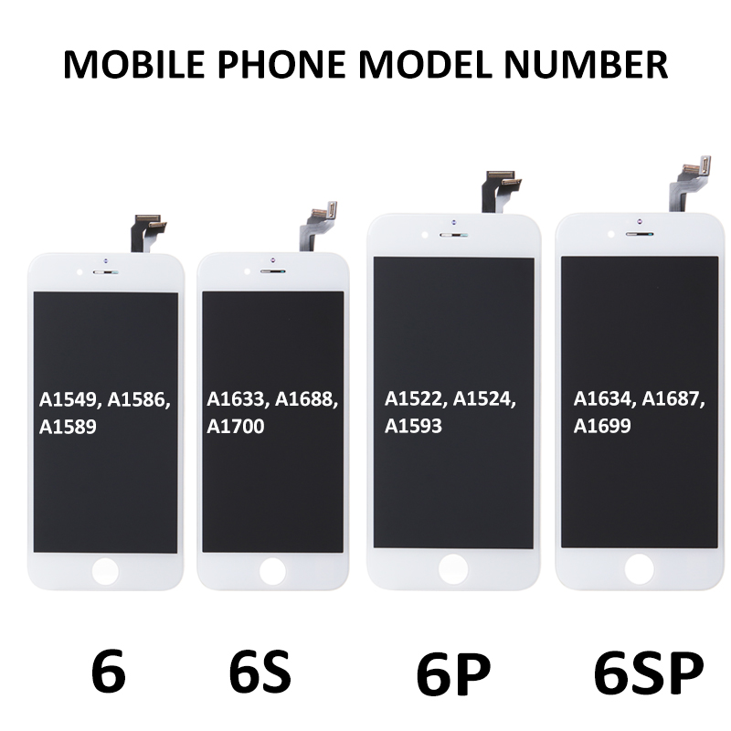 Image 3 - Full Set Complete LCD for iPhone 5S 6 6Plus 6S 6S Plus LCD with Home Button Front Camera Complete Assembly Display Touch Screen-in Mobile Phone LCD Screens from Cellphones & Telecommunications