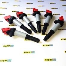 Set Van 6 Upgrade Prestaties Bobines Voor Bmw E39 E46 E53 E60 E63 2.5L 3.0L 3.2L L6 325i 330i 525i 530i 528i 535i Z4 Z3 X3