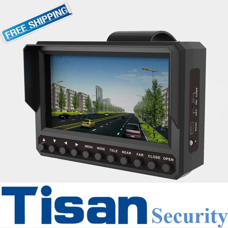 New 4.3 inch 3M 5M 1080P TVI test monitor AHD TVI CVI CVBS Analog CCTV tester Monitor DC 12V 5V output