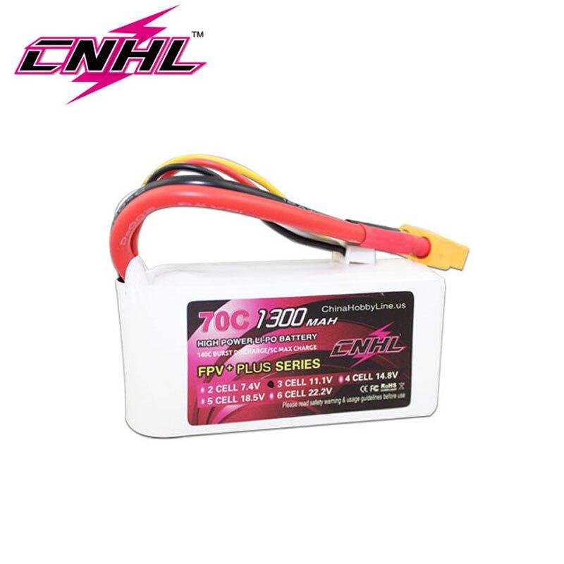 CNHL G+PLUS 1300mAh 3S 11.1V 70C Lipo Battery-in Parts