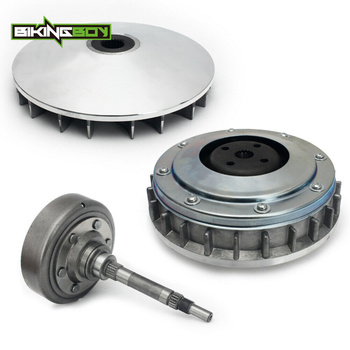 BIKINGBOY Wet Drive Clutch Cover Housing Carrier Primary Sheave for HISUN 500 700 UTV Bennche Supermach MENARDS YARDSPORT Set