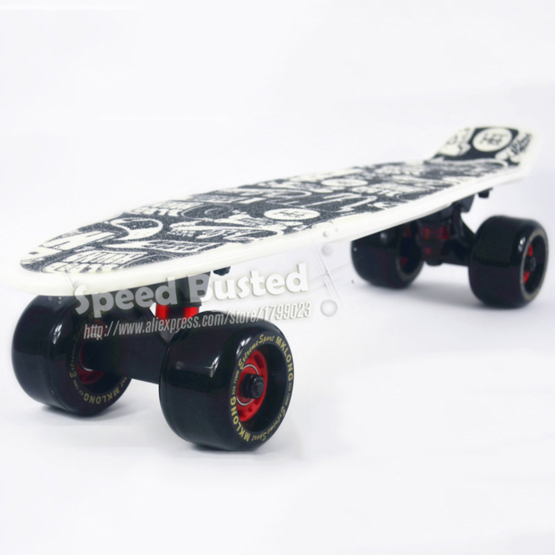 Peny board for sale original complete cheap Skateboard griptape Retro Mini Skate long board cruiser longboard 72mm big wheels