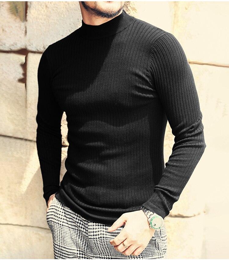 Neck Fit Men's Sweater 7